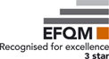 EFQM-Recognised for excellence 3 star